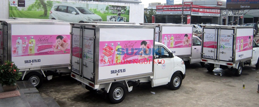 xe tải suzuki 750kg composite
