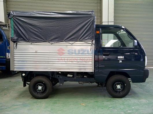 xe tải suzuki 500kg mui bạt