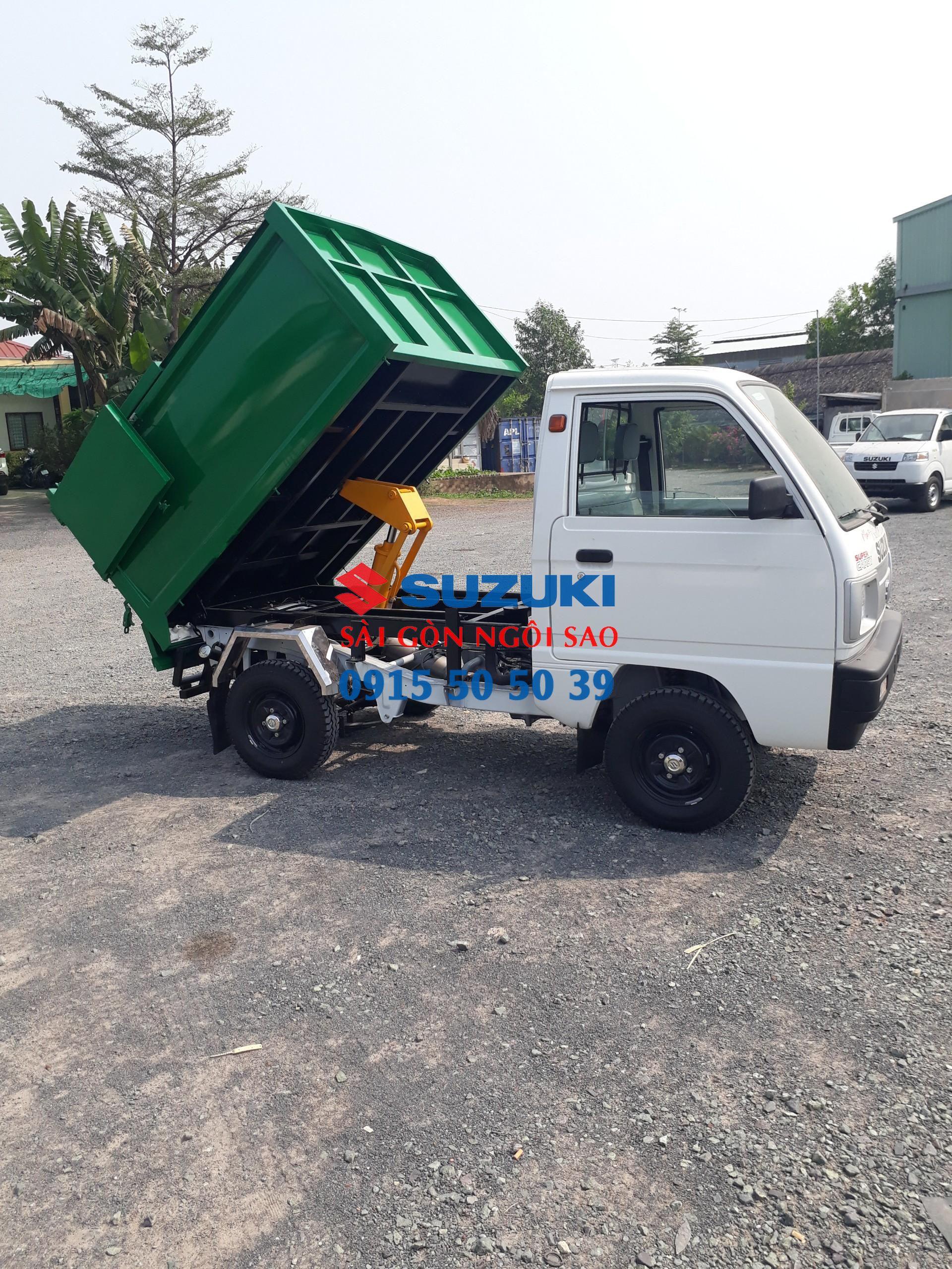 xe tải chở rác nhỏ