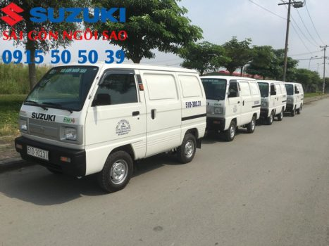 xe bán tải Suzuki Blind Van