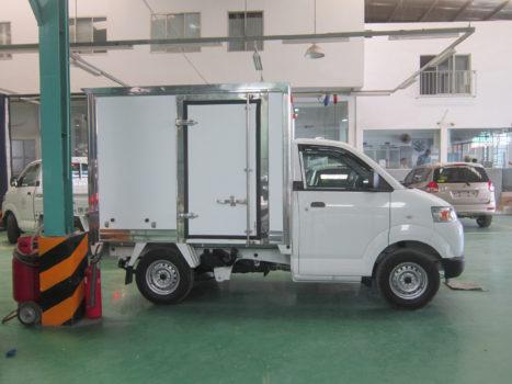 xe tải 750kg thùng kín