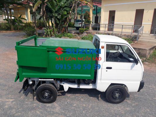 Xe tải chở rác nhỏ Suzuki