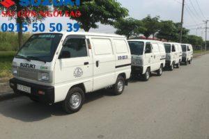 xe tải suzuki van tăng lệ phí trước bạ