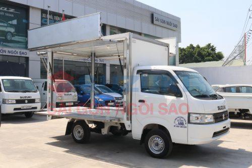 Xe tải suzuki thùng cánh dơi