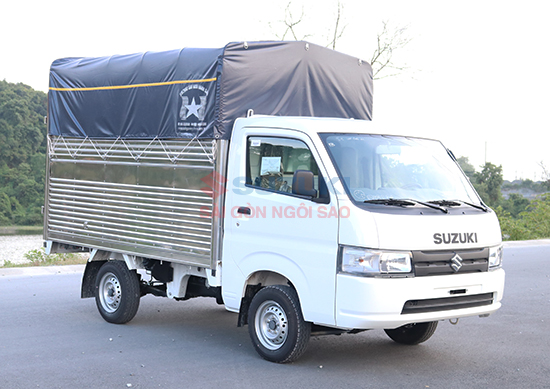 xe tải suzuki 750kg mui bạt