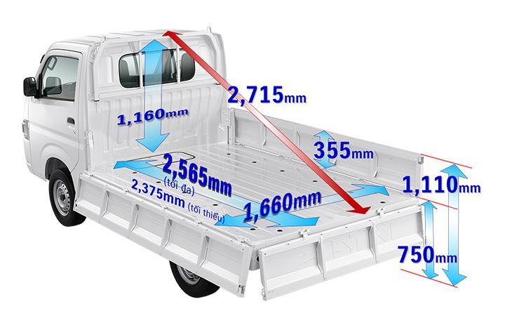 xe tải suzuki carry pro mới 2019 3