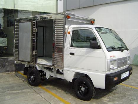 xe tai suzuki 500kg thung kin