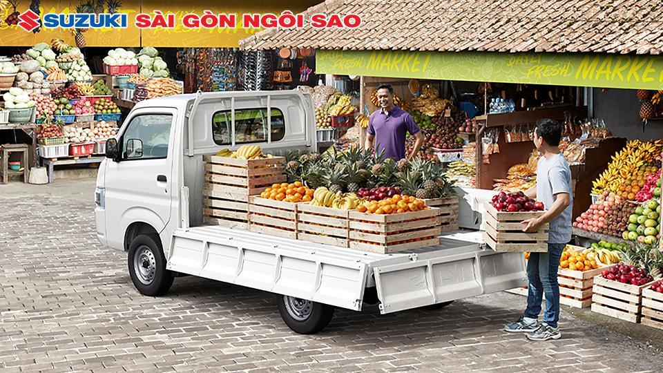 xe tải suzuki 990kg hình ảnh 2