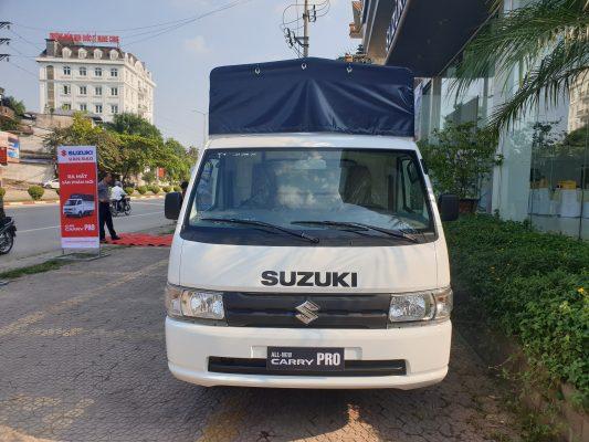 giá xe tải suzuki 810kg thùng mui bạt 3
