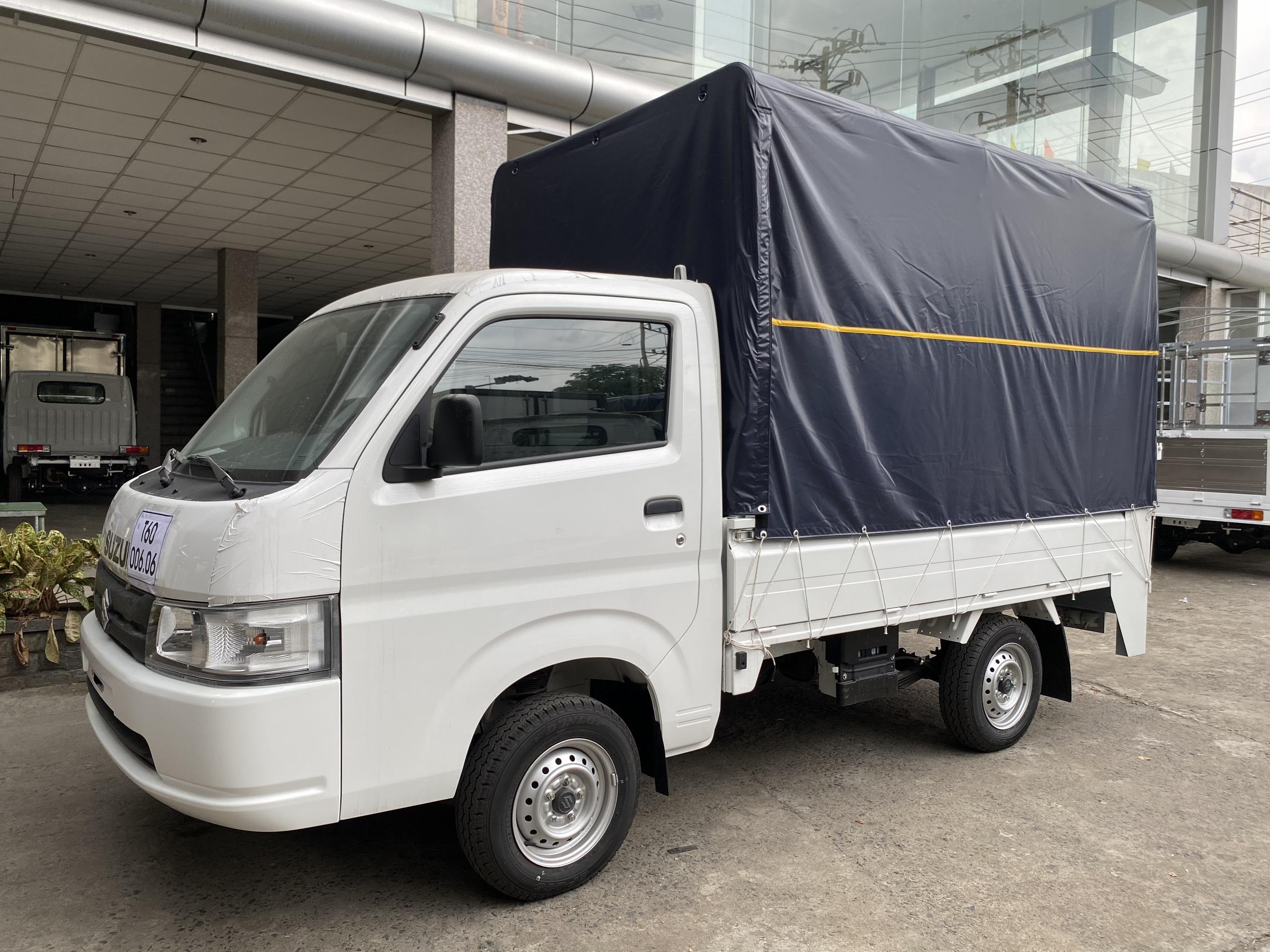 xe tải suzuki bửng nâng