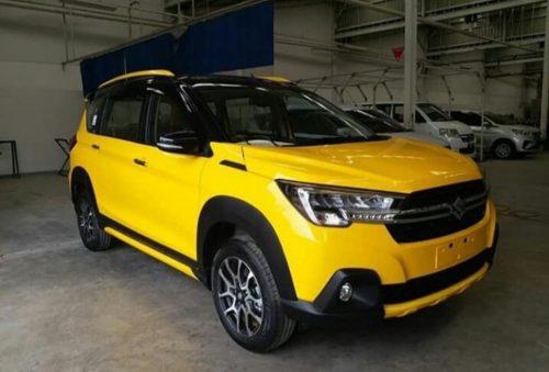 suzuki xl7 màu vàng