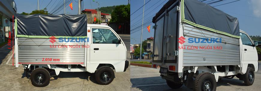 xe tải suzuki 500 mui bạt