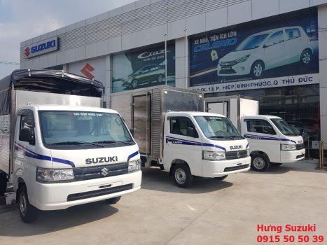giới thiệu xe tải suzuki bình dương