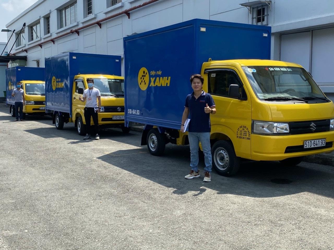 Bàn giá xe tải Suzuki Carry Pro 810kg cho thế giới di động