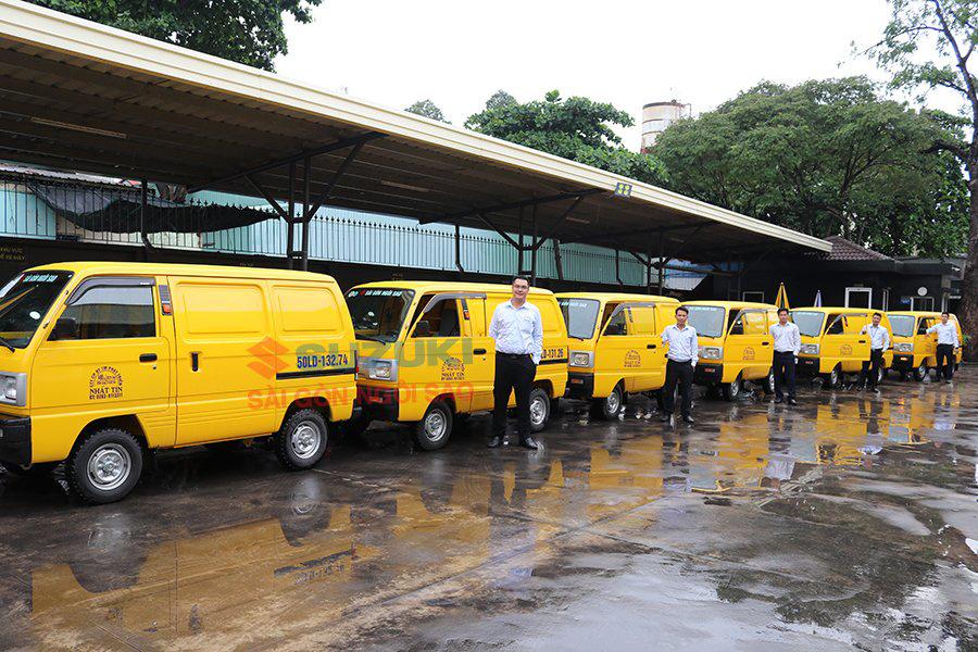 Suzuki bán tải Blind Van