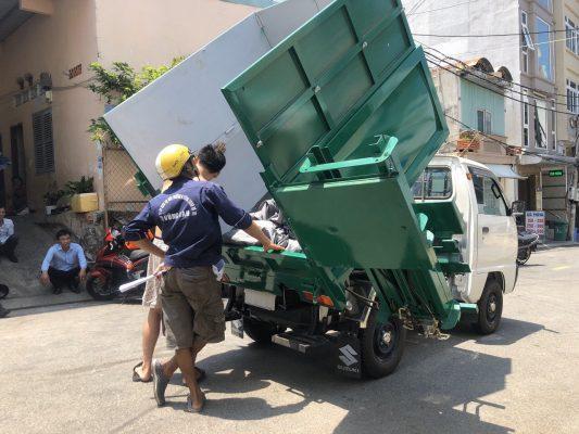 bảng giá xe tải suzuki xe tải chở rác suzuki