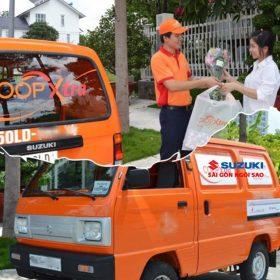 suzuki blind van màu cam