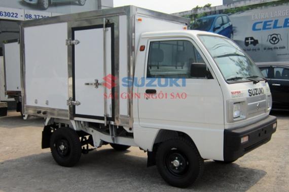giá xe tải suzuki carry truck thùng composite